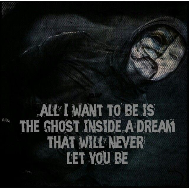 "Da Kurlzz lyrics from the song ""Ghost"" on Hollywood Undead's new album Day of the Dead."