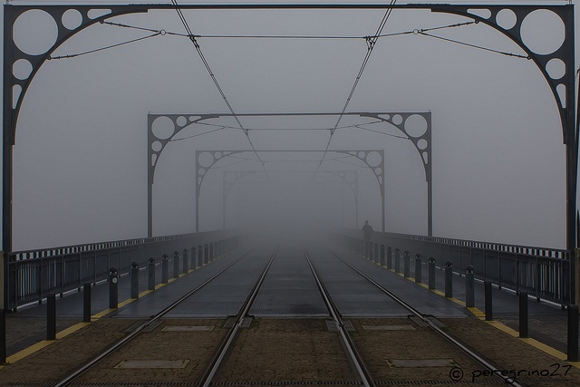 To infinittyyyyyy...: Places People, Foggy Bridges