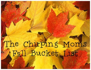 the chirping moms: Fall Bucket List