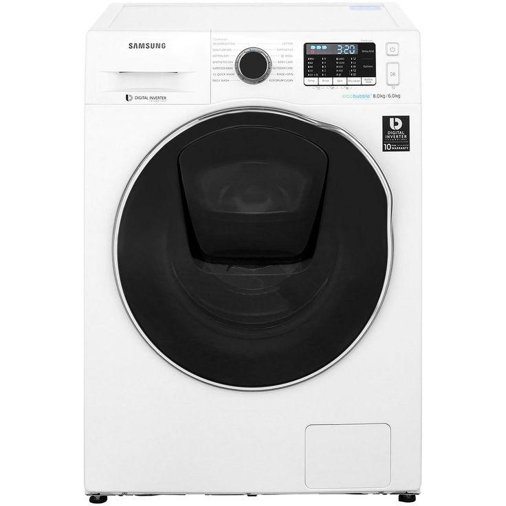 Wd80k5410ow Wh Samsung Washer Dryer Addwash Ao