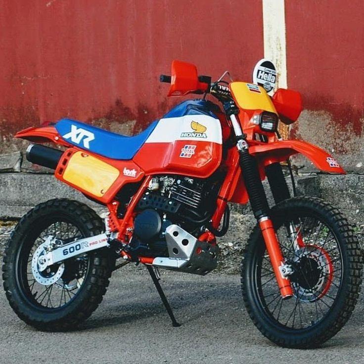 "6,107 Likes, 97 Comments - ENDURO LYFE (@endurolyfe) on Instagram: ""how cool is this custom Honda XL / XR / NX Hybrid Dakar by @bikeboundblog 🤭 @honda_powersports_us"""