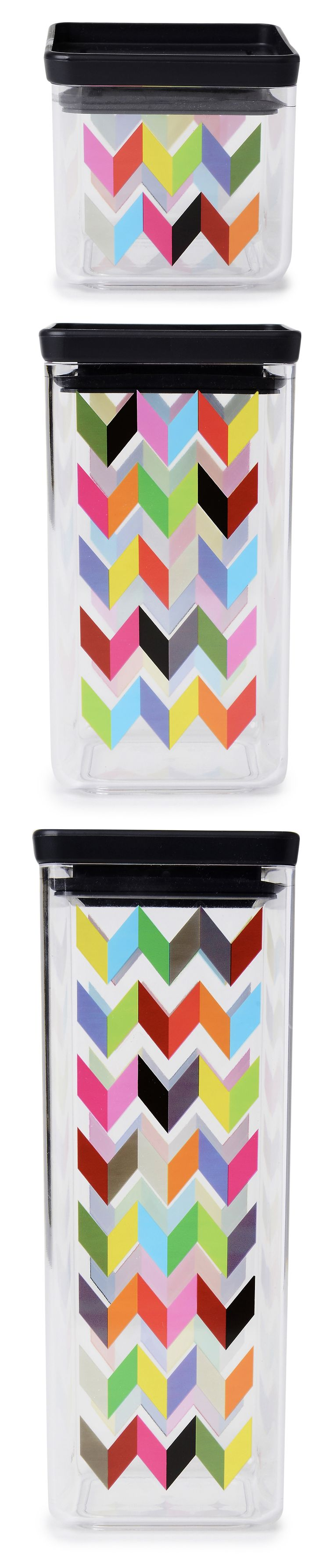 42 best happy kitchen images on pinterest chevron canisters and