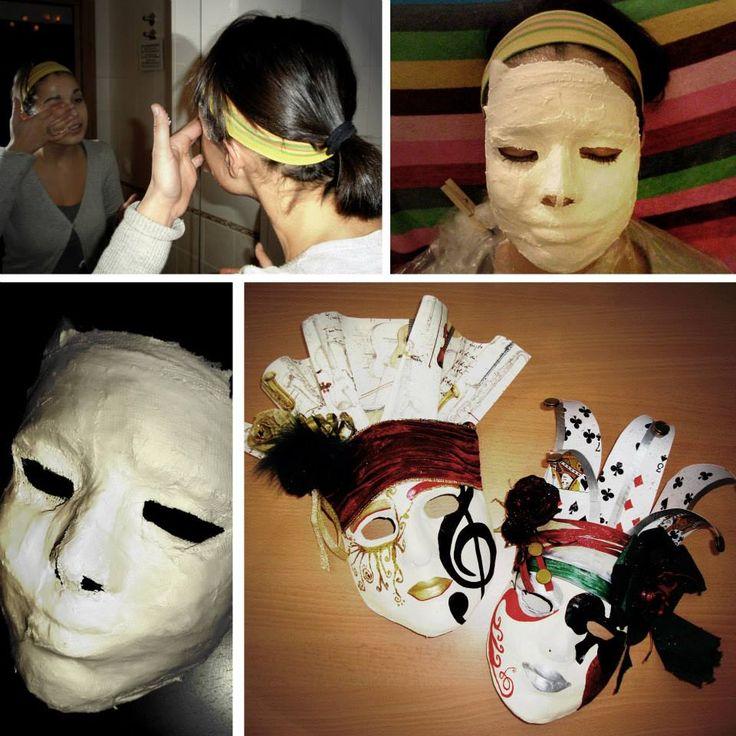 86 mejores im genes sobre yeso incre ble en pinterest - Mascaras venecianas decoracion ...