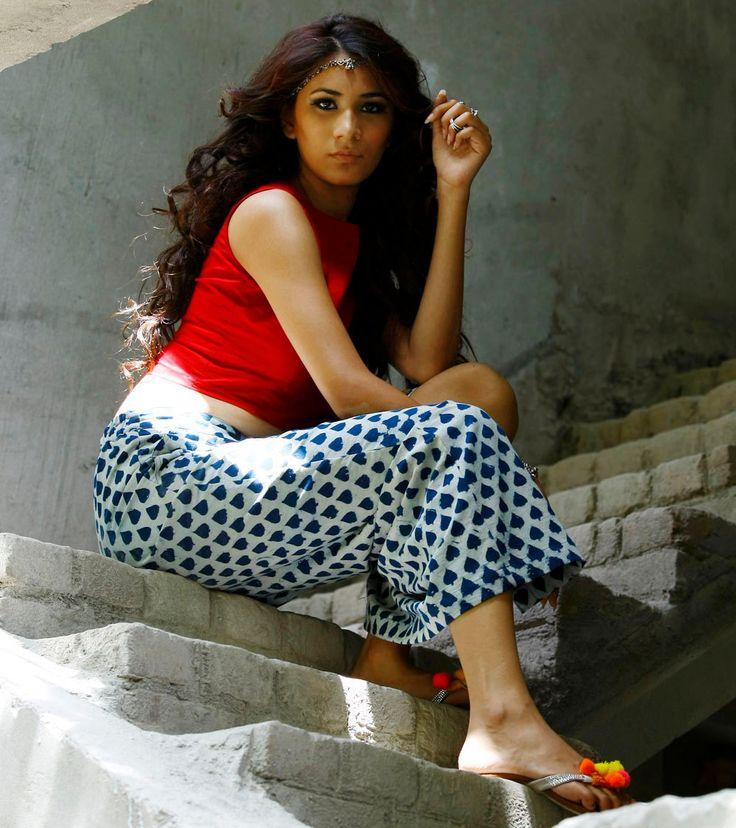 Indigo dyed full length  tube skirt by KharaKapas on Etsy