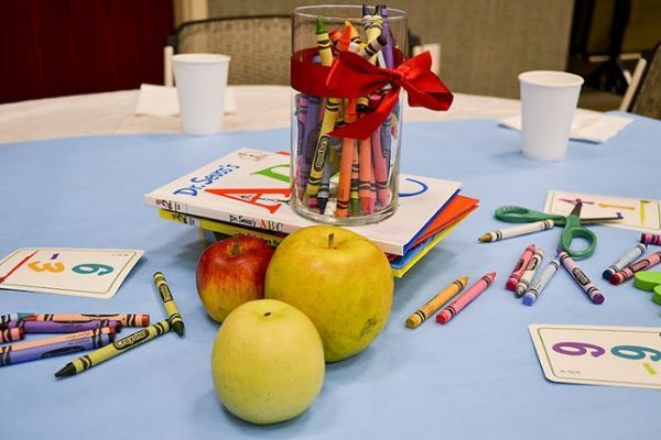 Back to School table decor | Relief