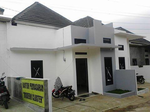 Rumah murah dijual type 45/70 lokasi setrategis bebas banjir, tersedia 5 unit lagi dari 12 unit, jalan masuk dua mobil, keama