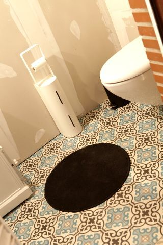 Cement tiles - Project De Coninck - Toilet