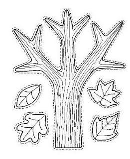 werkblad blaadjes van de bomen - welke blaadjes hangen er in jouw boom?: