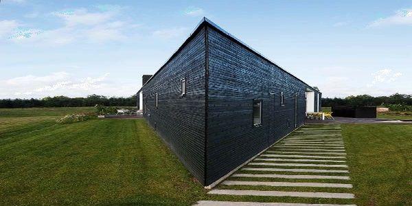 Triangular House Found in Denmark