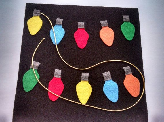 Work on hand eye coordination & fine motor skills while having fun! Children will love lacing these colorful lights. Includes 10 bright bulbs and a gold string. Perfect for the car, doctors office, church, or just quiet time at home.