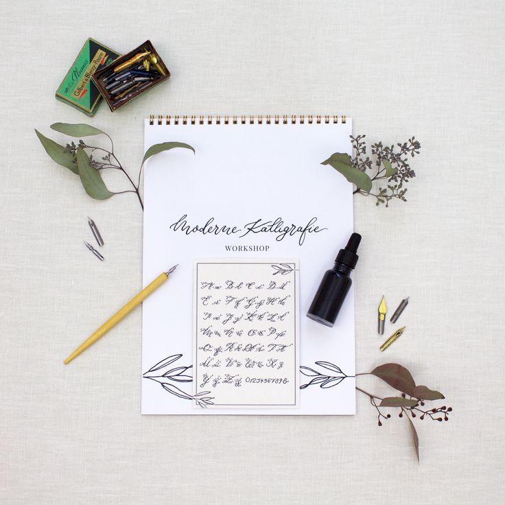 Dieses umfangreiche Kalligraphie Set bietet Dir alles, was Du für den Anfang benötigst, und JA, Du kannst absoluter Anfänger sein!Jetzt gleich bestellen!