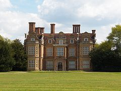 Swakeleys House is a Grade I-listed[1] 17th-century mansion in Ickenham, London Borough of Hillingdon,[2] built in 1638 for the future Lord Mayor of London, Sir Edmund Wright. Originally the home of the lords of the manor of Swakeleys, writer Samuel Pepys visited the house twice
