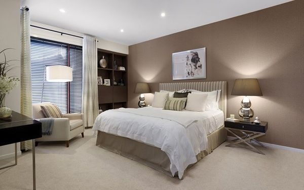 master bedroom ideas - love the wall color!