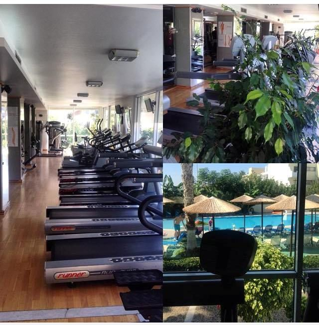 Nothing feels better than a finished workout...with a view! #mondays #gym #gymtime #kos #koshotel #bodynsoul  www.koshotel.gr
