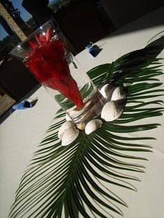 palm fronds table - Google Search