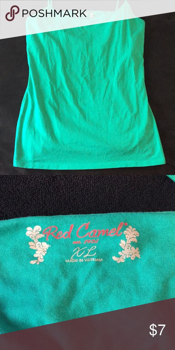Red Camel Juniors Cami Juniors XL. Sea foam green. Coming from smoke free home.   ➡️Bundle with other items to save!! Red Camel Tops Camisoles
