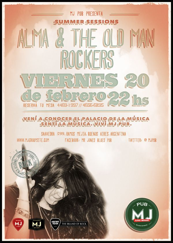 Alma & The Old Man Rockers