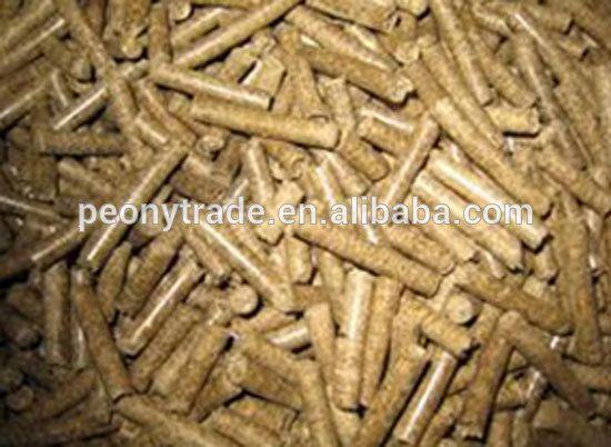8mm pine wood pellet for power plant