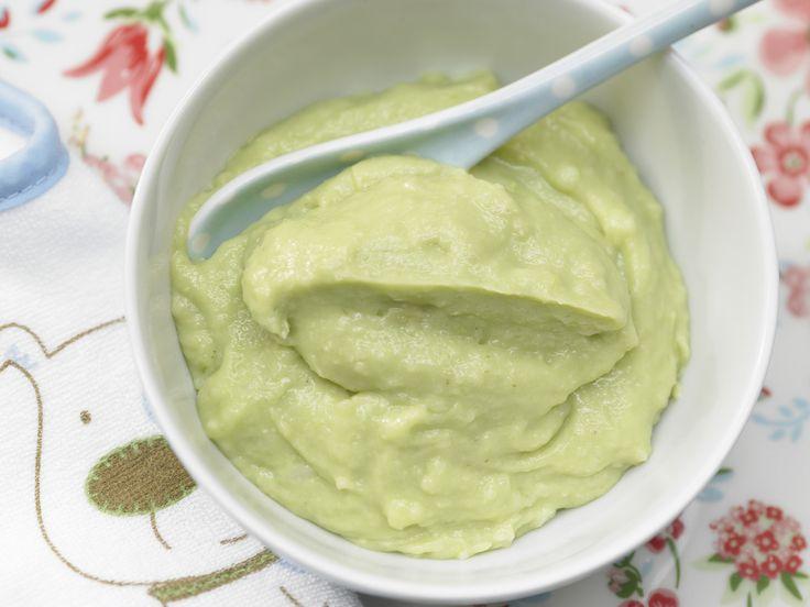 Reisflockenbrei mit Avocado - Nachmittagsbrei ab 7. Monat (milchfrei) - smarter - Zeit: 10 Min. | eatsmarter.de