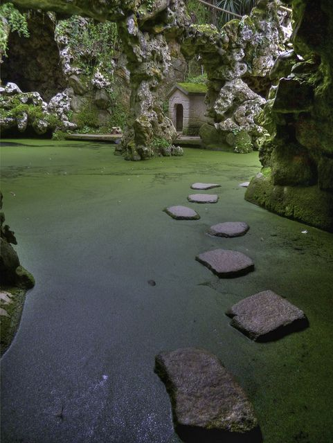 Quinta da Regaleira em Sintra. Um dos melhores espaços de Portugal.