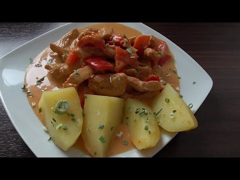 Paprika Geschnetzeltes All in one    Thermomix®TM5 - YouTube