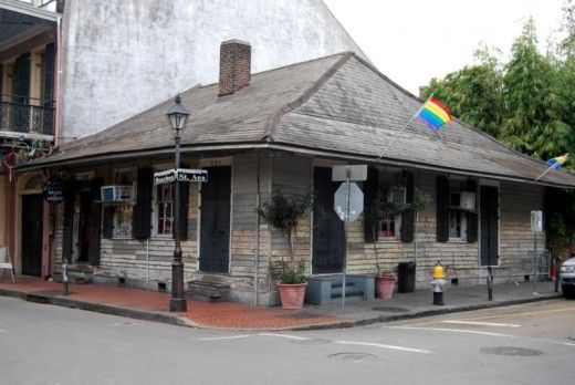 Visit 1020 St. Ann Street. This is Marie Laveau's house. It's in the French Quarter of New Orleans