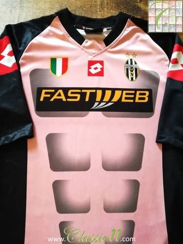 b05ffcb59 Official Lotto Juventus goalkeeper football shirt from the 2002 03 season.  Complete with Scudetto
