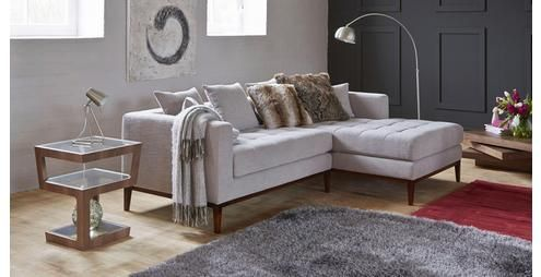 Limoges Right Hand Facing Chaise Ends Sofa Limoges | DFS