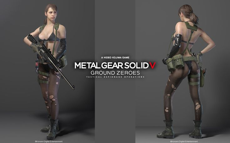 Metal gear solid 5 quiet wallpaper hd
