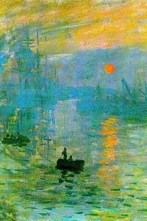 impression sunrise - Claude Monet Since the Impressionism, through Cubism, and Abstractionism, the abstract art as opposed to the figurative art gained more and more importance in Western fine arts. *Lecture: Abstract Art and Design*