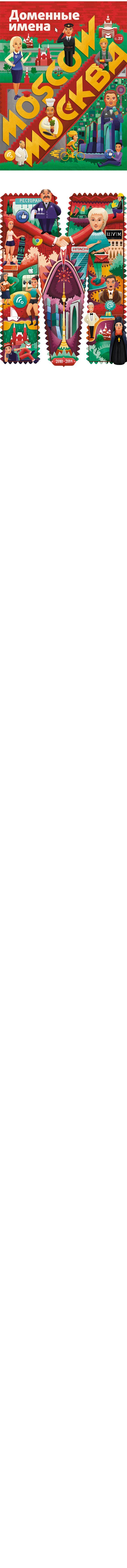 Аtelier Afisha. Edition of Domain Names. Autumn 2014 on Behance