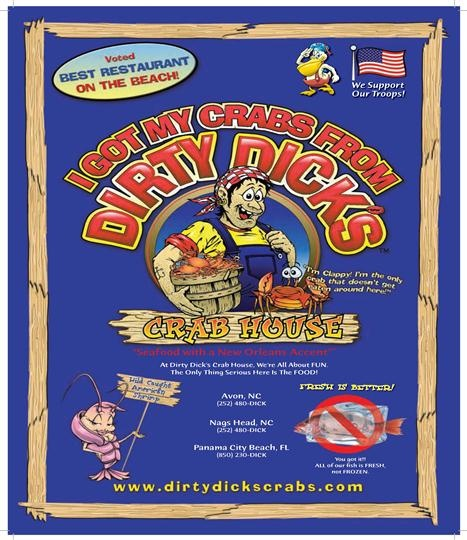 #Dirty Dicks Crab House - Panama City Beach, Florida- Seafood with a New Orleans Accent