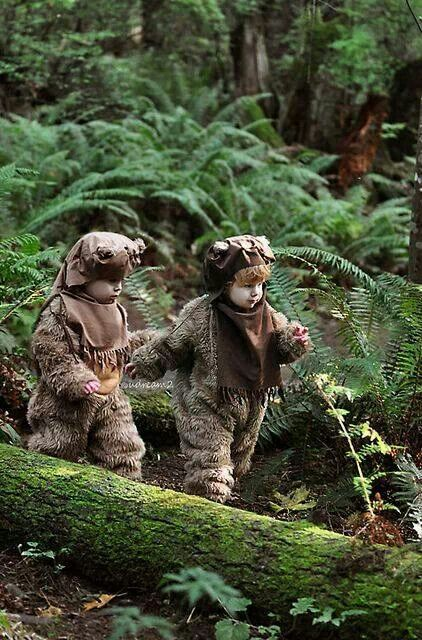 Ewok Children Cosplay.This might be one of the cutest things I've ever seen! I cannot wait to have kids to put in adorable costumes!