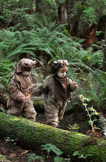 Ewok Children Cosplay.