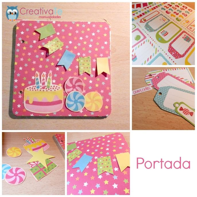 tutorial album scrapbooking paso 2