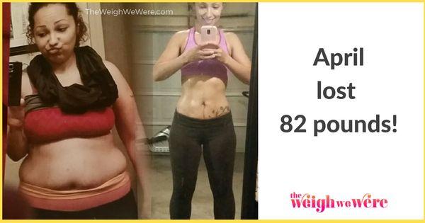 82 Pounds Lost: April's Journey