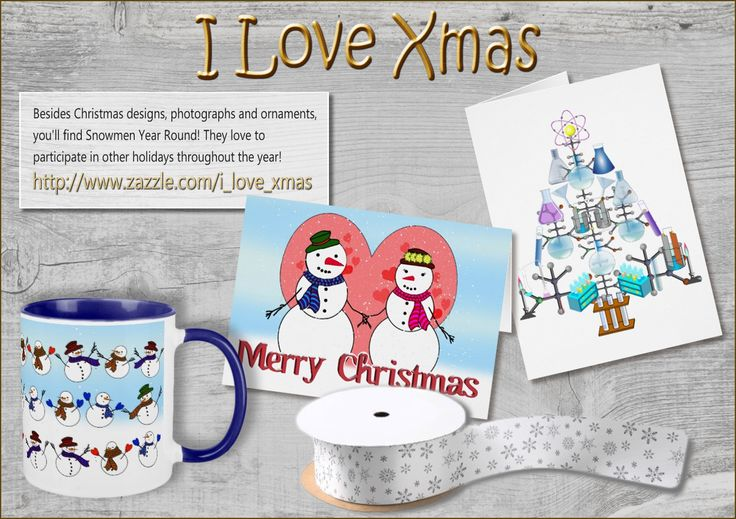 Love Christmas and wish it could last all year round? Visit the shop I Love Xmas for year round themed Christmas accessories, cards, and gifts!