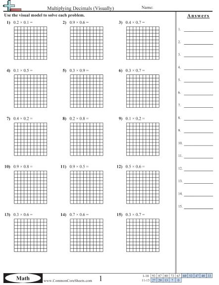 Number Names Worksheets adding and subtracting decimals worksheets : 1000+ ideas about Decimals Worksheets on Pinterest | Decimal ...