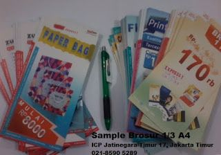 I Can Print ( ICP ) Jatinegara: Cetak Brosur Murah Jakarta