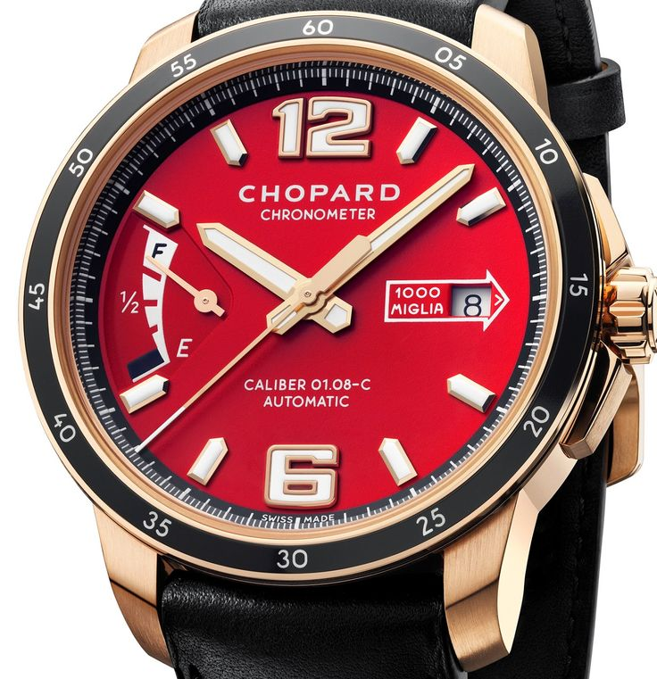 Chopard - Mille Miglia 2015 Race Edition 18K rose gold.  #Chopard #luxury #watches