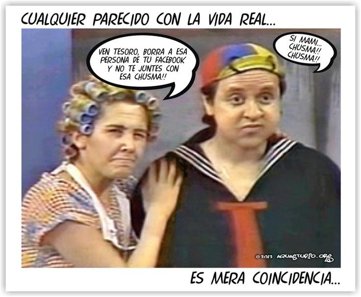 Doña Florinda y Quico están actualizados...