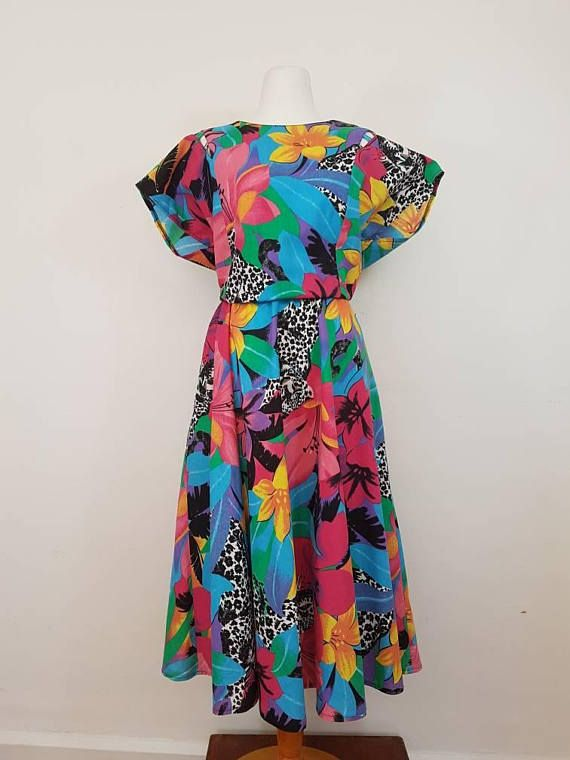 French Brand / Vintage Maxi dress / Summer Dress / Funcky