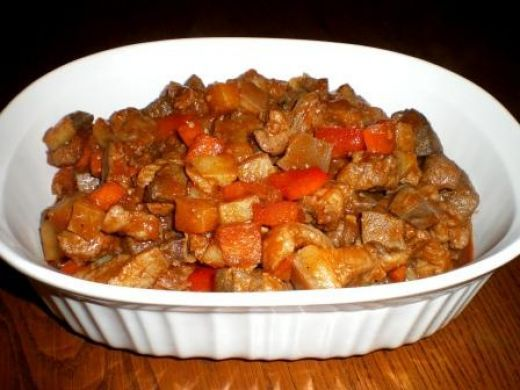 Pork Menudo is a favorite Filipino dish which can be served on a day-to-day meal or for gatherings or special occasions.  This sounds like Spanish food but it's actually Filipino style.  The food...