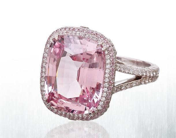 One Of The World S Rarest Sapphires This 10 Carat Pink Padparadscha