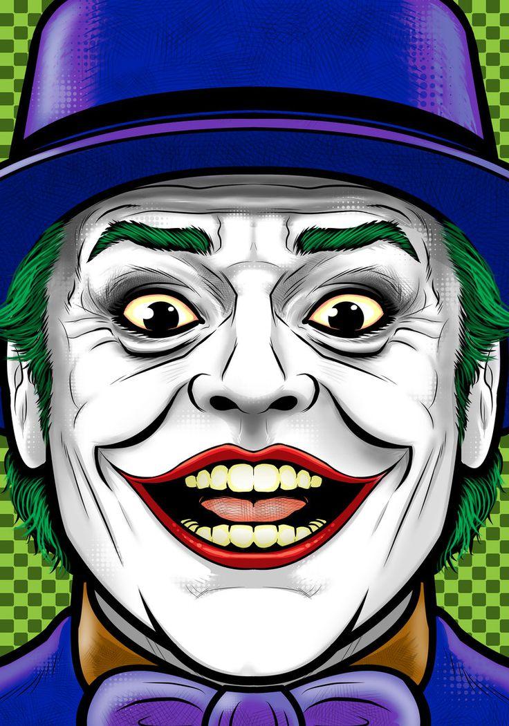 Nicholson Joker by Thuddleston.deviantart.com on @deviantART