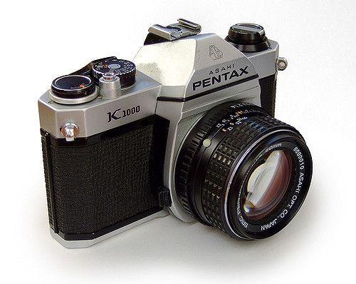 Pentax K1000 Camera  SLR Manual Focus Camera