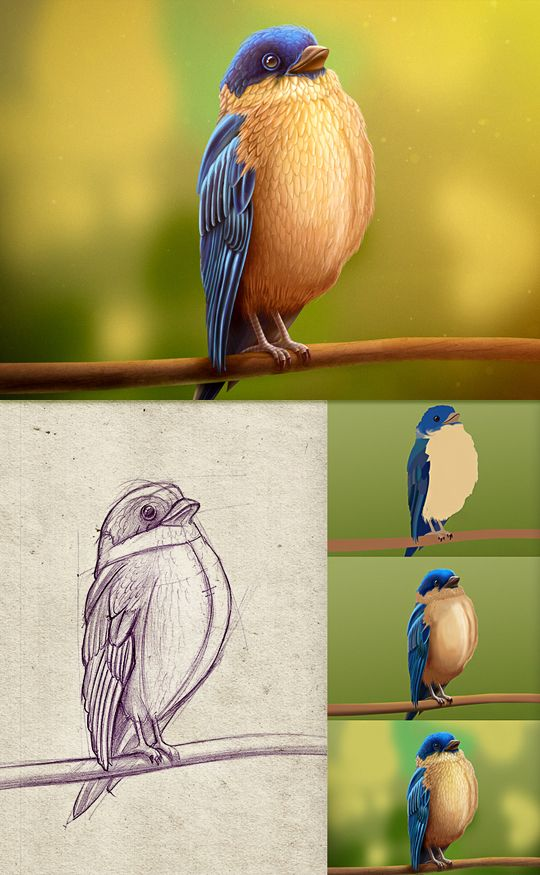 As incríveis ilustrações de Mike