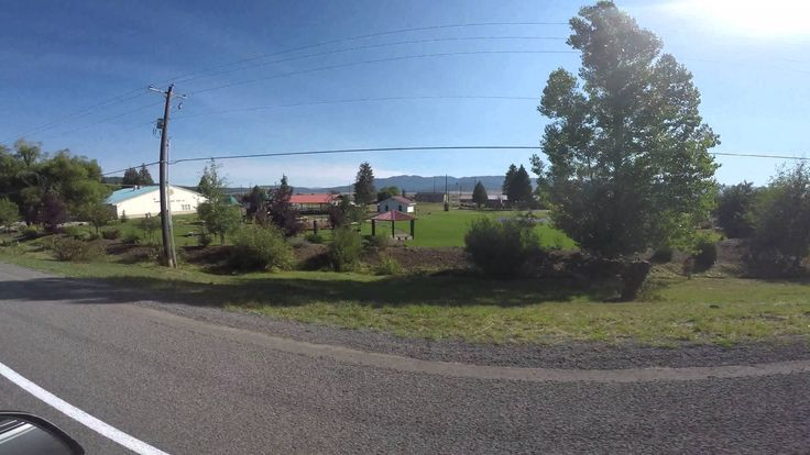 A drive down Main Street in Cascade, Idaho. A glimpse at the town in 2015.