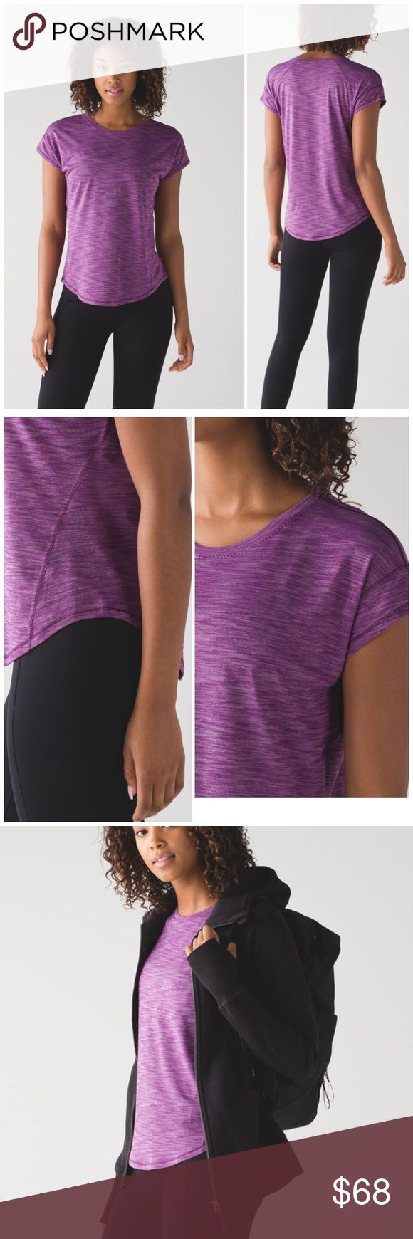 NWT Lululemon Tee From high-intensity sweat dates to coffee shop stops, this lightweight, versatile tee has you covered. Seriously Light™ Luon Our sweat-wicking, four-way stretch Seriously Light™ Luon fabric makes moving a breeze seriously lightweight sweat-wicking four-way stretch cottony-soft lululemon athletica Tops Tees - Short Sleeve