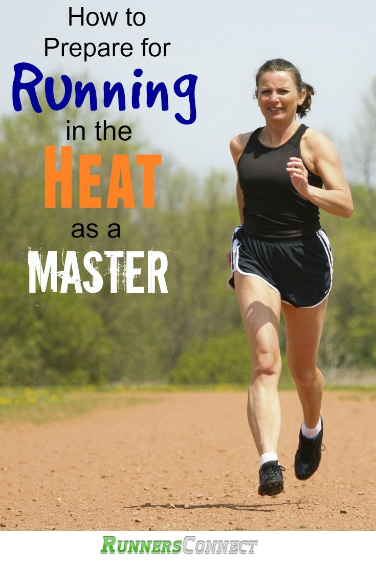 Running in the heat can be tough, but did you know as a masters runner you are at a disadvantage? These simple tips explain how to successfully run through the summer at every age. #RunningTips #SummerRunning